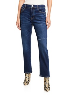 Current/Elliott The Original Straight-Leg Jeans
