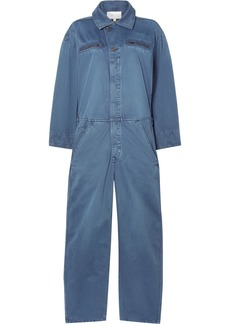 Current/Elliott The Penny Cotton-twill Jumpsuit