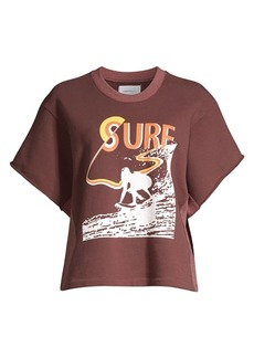 Current/Elliott The Pickup Surfer Graphic Sweatshirt