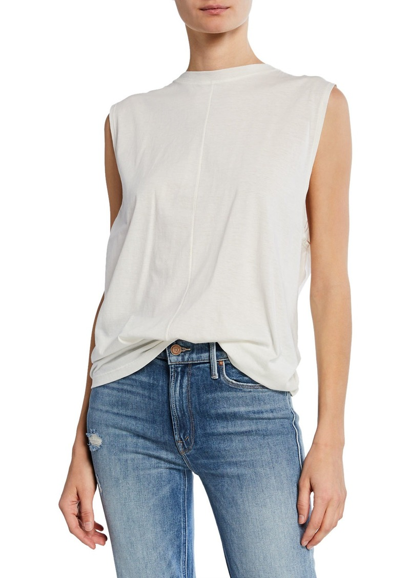 34dcb10e Current/Elliott The Pleated Back Muscle Tee   Casual Shirts