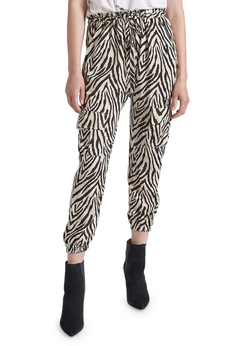Current/Elliott The Roxwell Zebra-Stripe Pants