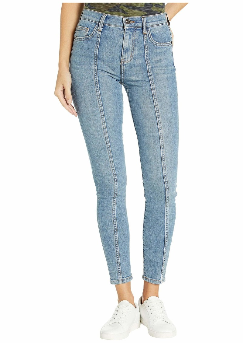 Current/Elliott The Seamed High-Waist Ankle Skinny Stiletto in Feister