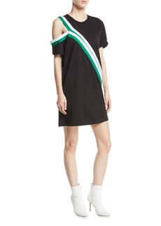 Current/Elliott The Silt Striped Tee Dress