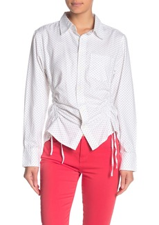 Current/Elliott The South Canon Dotted Shirt