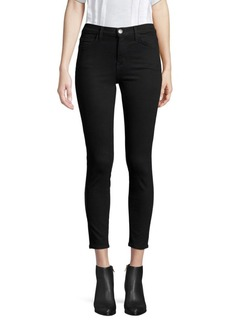 Current/Elliott The Stiletto Mid-Rise Crop Jeans