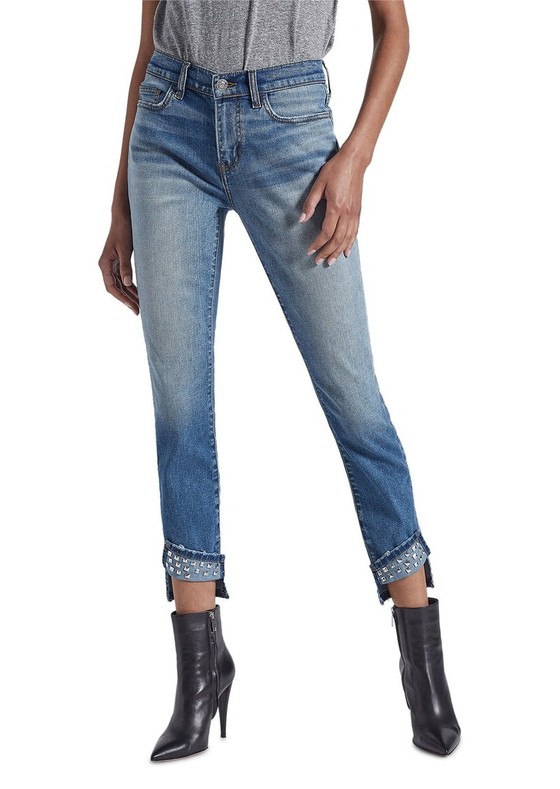 Current/Elliott The Turnt Ankle Skinny Stiletto Jeans