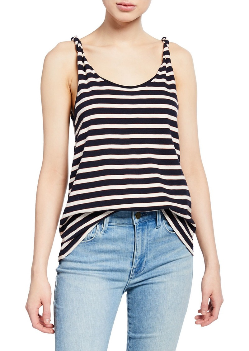 Current/Elliott The Twisted Striped Tank