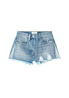 Current/Elliott The Ultra High Waist Denim Shorts