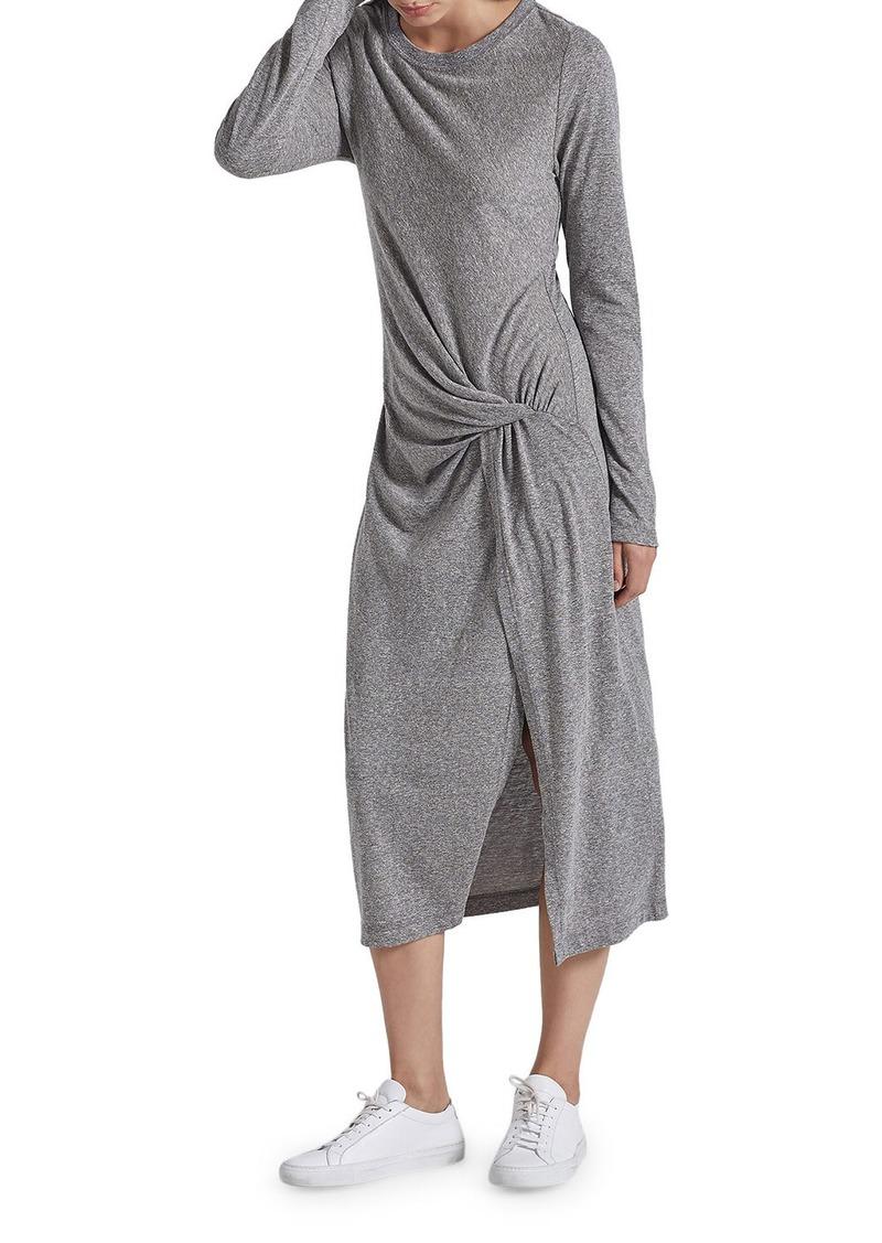 Current/Elliott The Vega Long-Sleeve Dress