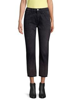 Current/Elliott The Vintage Studded Crop Jeans