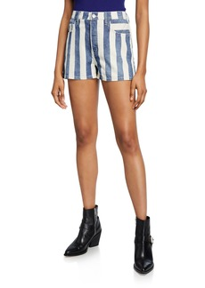 Current/Elliott The Westside Striped Shorts
