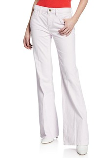 Current/Elliott The Wray Mid-Rise Wide-Leg Jeans