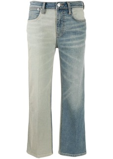 Current/Elliott two tone jeans