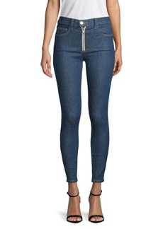 Current/Elliott Ultra High-Waisted Skinny Jeans