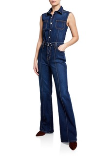 Current/Elliott Zenith Denim Jumpsuit