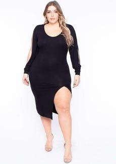 Curvy Sense Nayely Midi Bodycon Dress