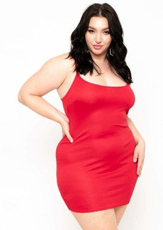 Curvy Sense Slip Dress