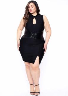 Curvy Sense Waist Snatcher Bodycon Dress