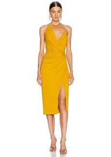 Cushnie Halter Neck Low Back Pencil Dress