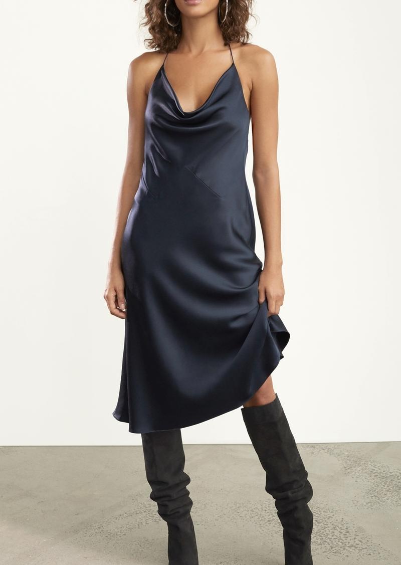 Cushnie Halter Neck Slip Dress