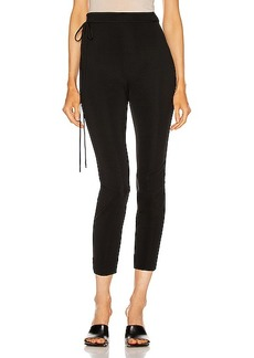 Cushnie High Waisted Fitted Cropped Pant