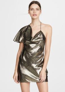 Cushnie Single Sleeve Mini Dress