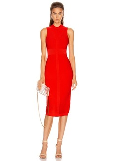 Cushnie Sleeveless Knit Pencil Dress