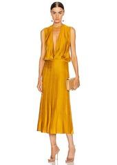 Cushnie Sleeveless Midi Length Knit Dress