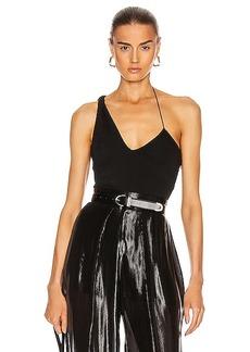 Cushnie Sleeveless Twisted Bodysuit
