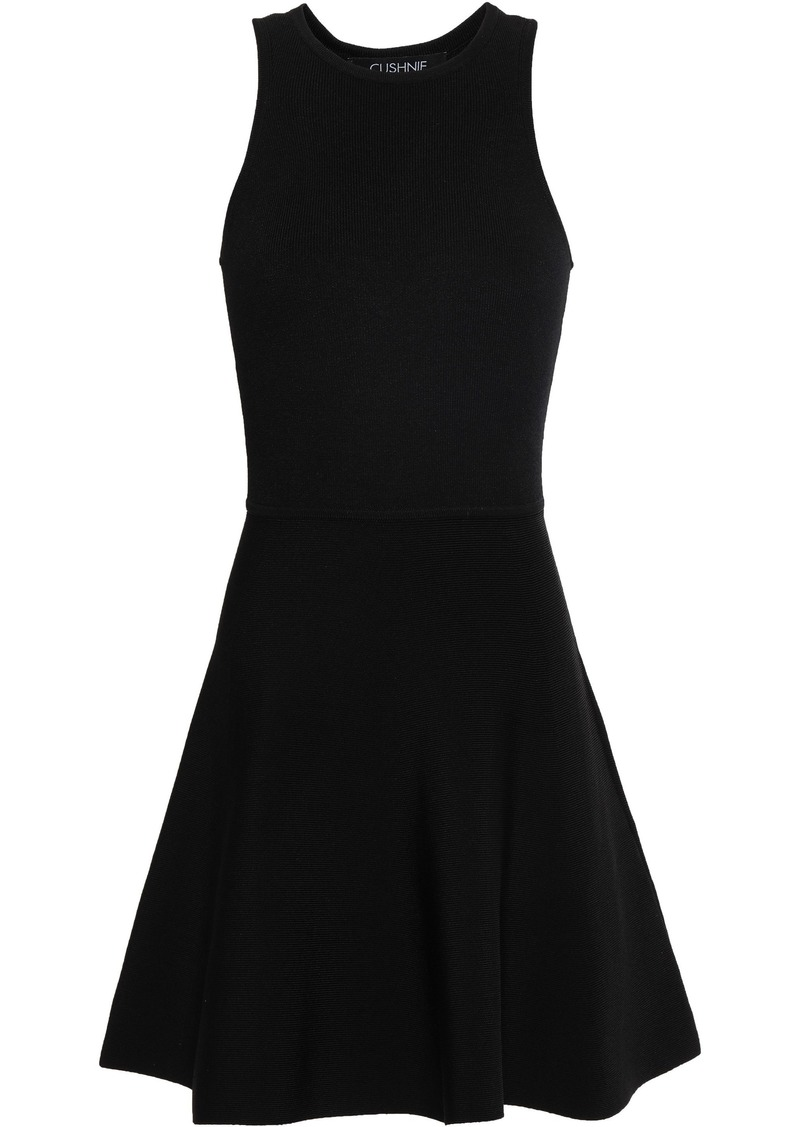 Cushnie Woman Ponte Mini Dress Black