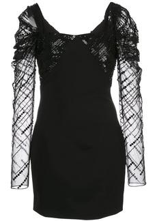 Cushnie embellished mini dress