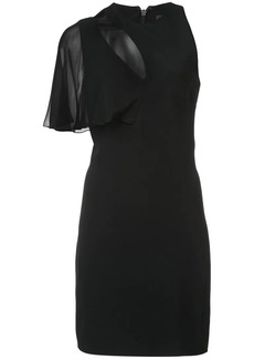 Cushnie Et Ochs asymmetrical mini dress