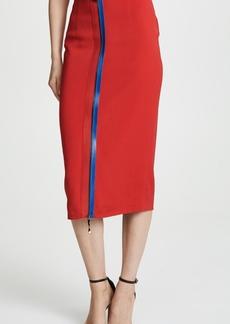 Cushnie Et Ochs 2 Way Zip Pencil Skirt