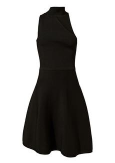 Cushnie Et Ochs Vika One Shoulder Knit Dress