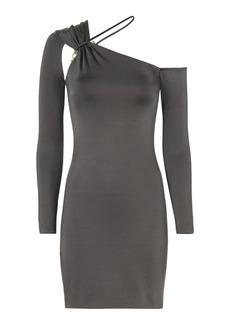 Cushnie Et Ochs Sasha One Shoulder Mini Dress