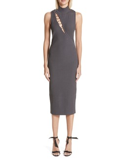 Cushnie et Ochs Alsia Cutout Knit Dress