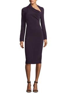 Cushnie et Ochs Asymmetric Bodycon Dress