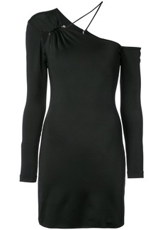Cushnie Et Ochs asymmetric fitted dress - Black