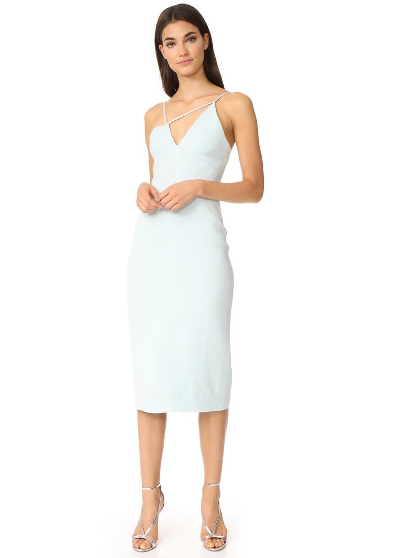 Cushnie Et Ochs Asymmetrical Strappy Dress
