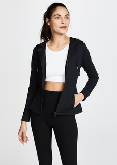 Cushnie Et Ochs Aurelia Hooded Zip Up Jacket