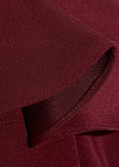 Cushnie et Ochs Blake cold-shoulder silk-georgette dress