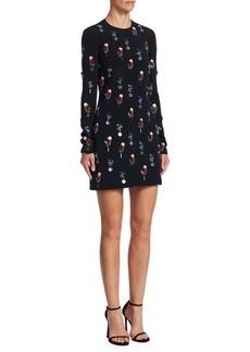 Cushnie Et Ochs Cecily Eclipse Mini Sheath Dress