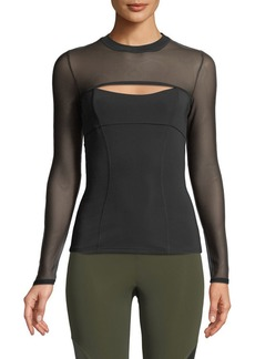 Cushnie Et Ochs CUSHNIE Dominique Cutout-Front Neoprene Top