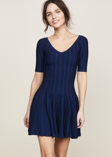 Cushnie Et Ochs Elizabetta Two Tone Knit Dress