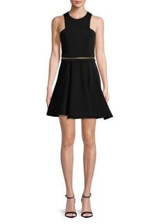 Cushnie et Ochs Fit-&-Flare Zip Dress