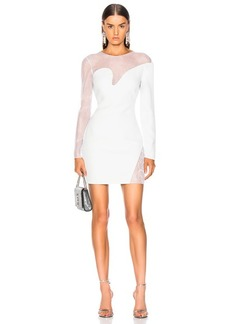 Cushnie et Ochs Fragmented Mini Dress