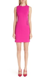 Cushnie et Ochs Fringe Side Cutout Dress