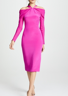 Cushnie Et Ochs Halter Neck Pencil Dress