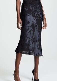 Cushnie Et Ochs Cushnie High Waisted Bias Pencil Skirt