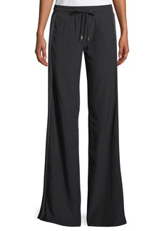 Cushnie Et Ochs Ilona Wide-Leg Pull-On Jogger Pants